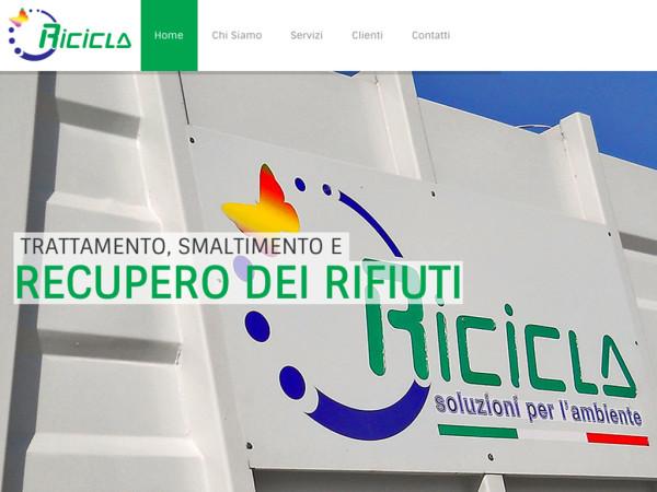 Il nuovo sito di Ricicla